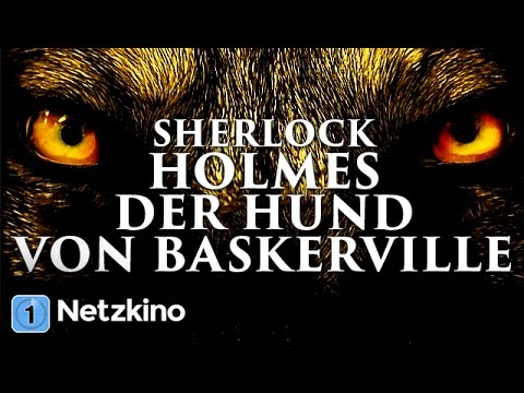 Sherlock Holmes - Der Hund von Baskerville (Krimi, Horror in voller Länge, ganzer Film auf Deutsch)