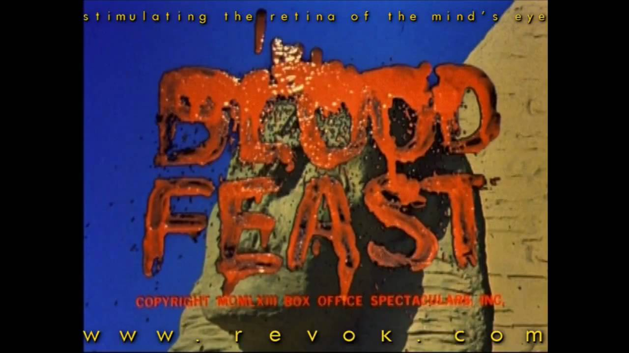 BLOOD FEAST (1963) Trailer Herschell Gordon Lewis' pioneering gore fest