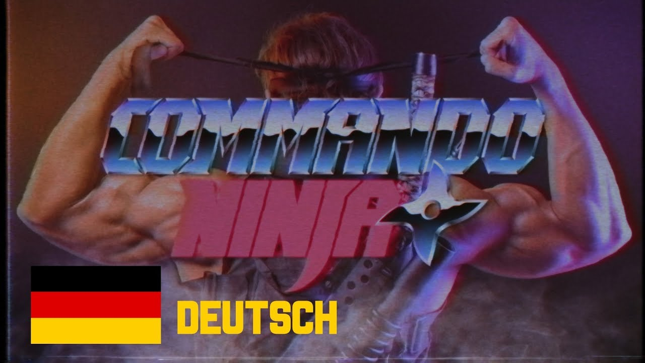 COMMANDO NINJA (Ganzer Film) Deutsch - by MECKI & Friends