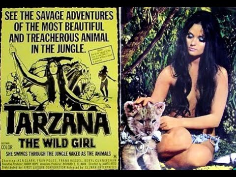Tarzana The Wild Girl - 1969 jungle adventure starring Ken Clark