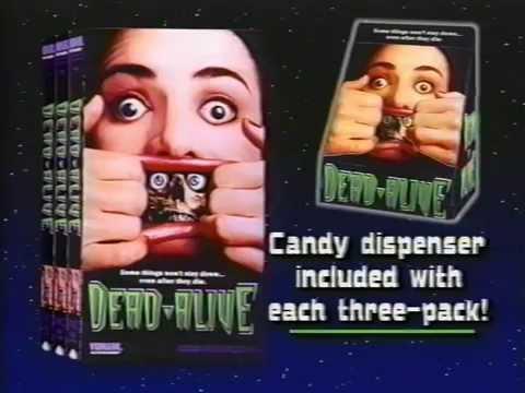 Peter Jackson's Dead Alive Braindead VHS Promo