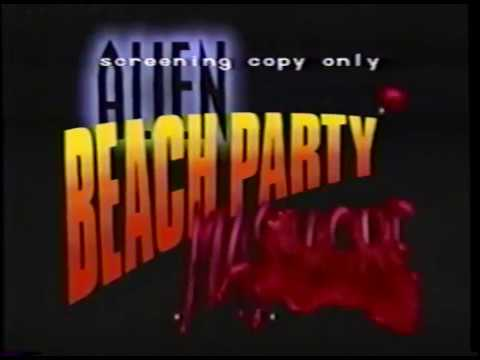 Alien Beach Party Massacre (1996) VHS Screener