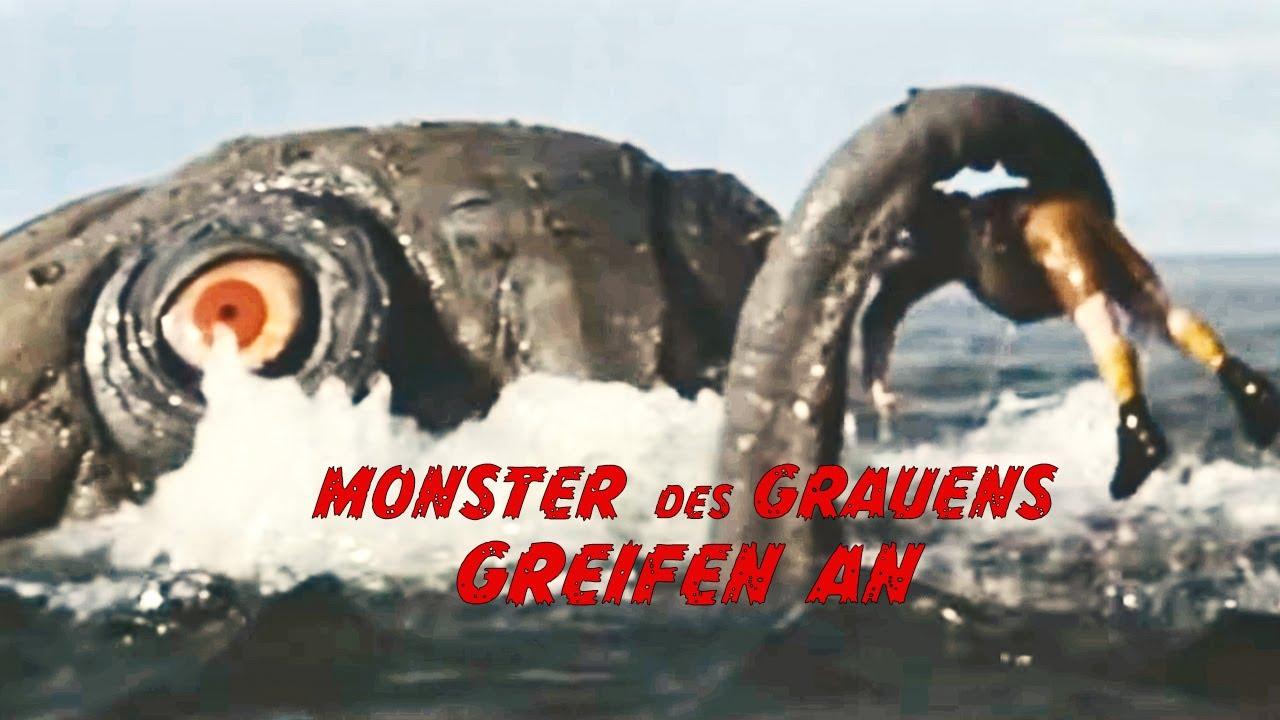 Monster des Grauens greifen an