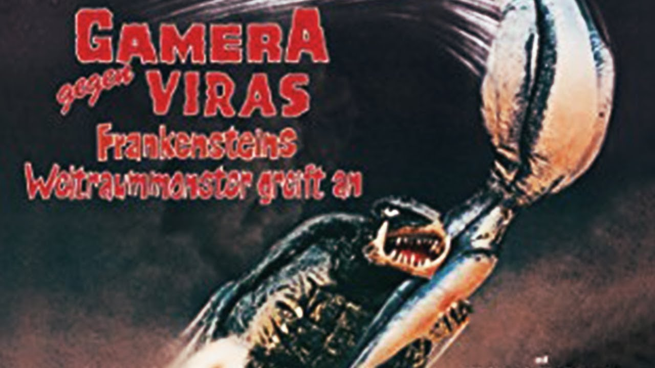 Gamera gegen Viras (Ganzer Science Fiction Film, deutsch, In voller Länge) *ganzer Spielfilm*
