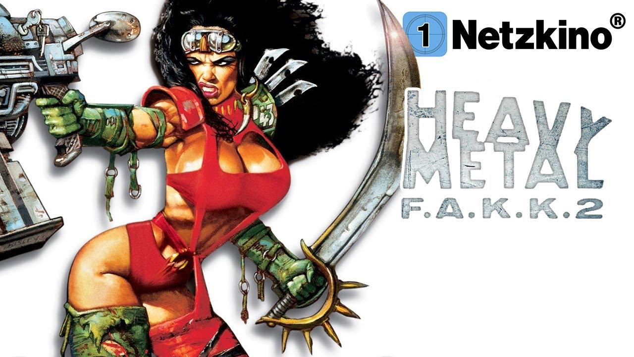 Heavy Metal F.A.K.K.2 (ACTION ANIMATION ganzer Film Deutsch, animierte Actionfilme in voller Länge)