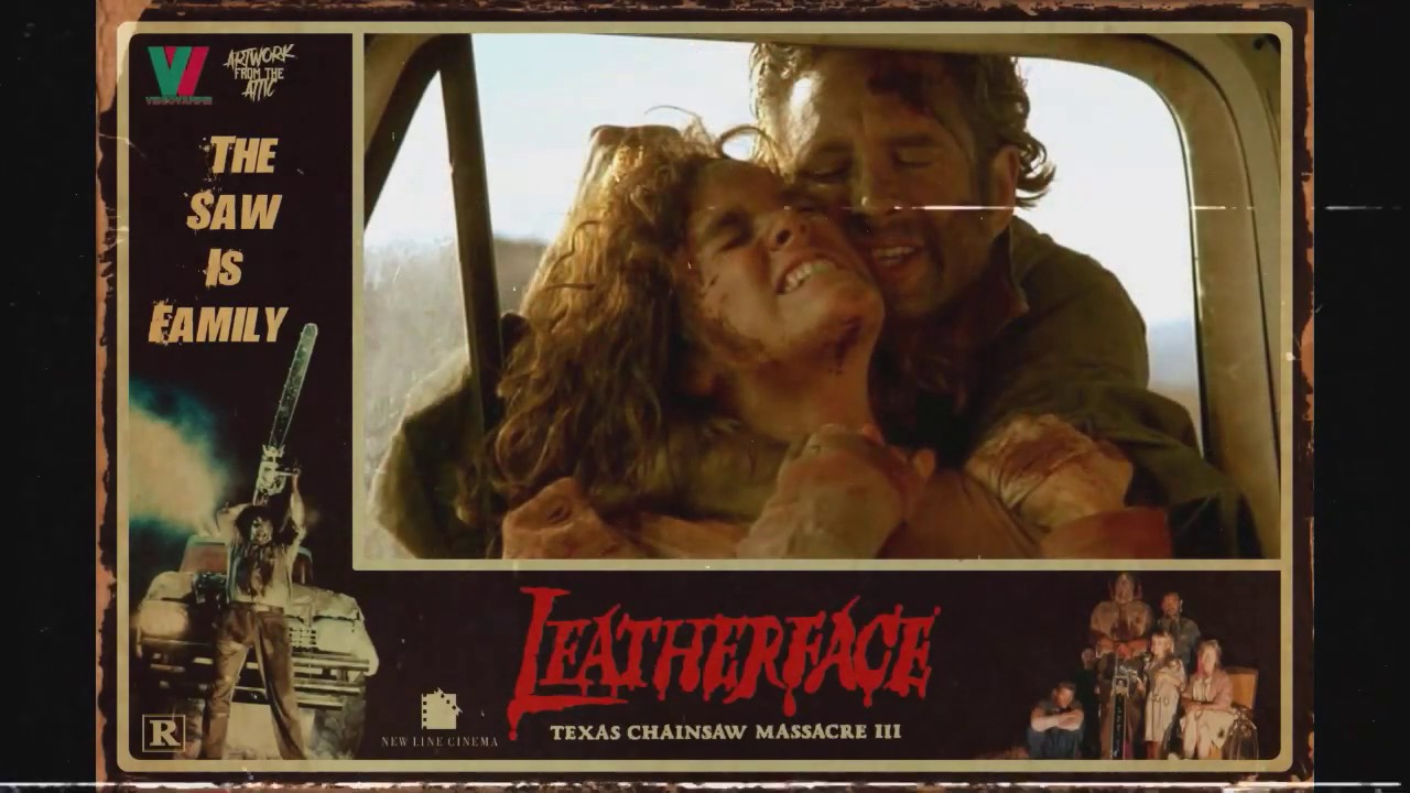 Leatherface: The Texas Chainsaw Massacre III Lobby Cards Montage