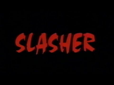 Slasher (1997) VHS Tape