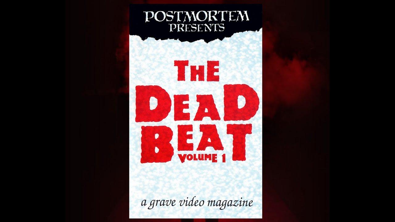 THE DEAD BEAT Vol. 1 (1990) Rare! horror video magazine (VHS rip) Forry Ackerman, Angus Scrimm
