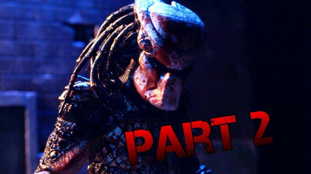 The Predator Part 2 stop motion