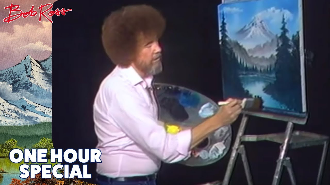 Bob Ross - One Hour Special - The Grandeur of Summer