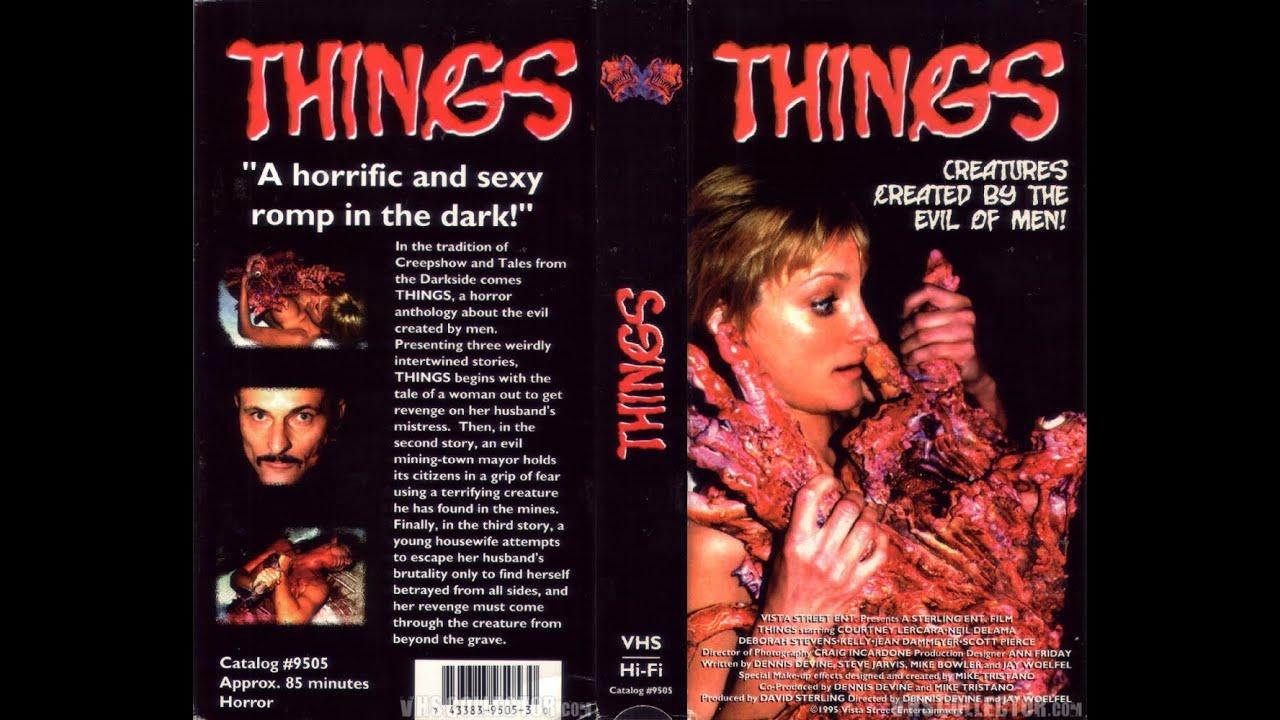 Things (1995) VHS