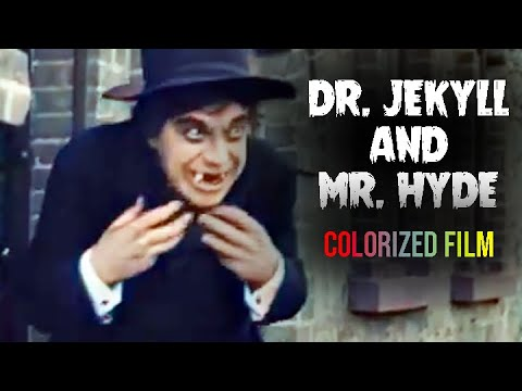 Dr. Jekyll and Mr. Hyde (1912) Short, Drama, Horror COLORIZED
