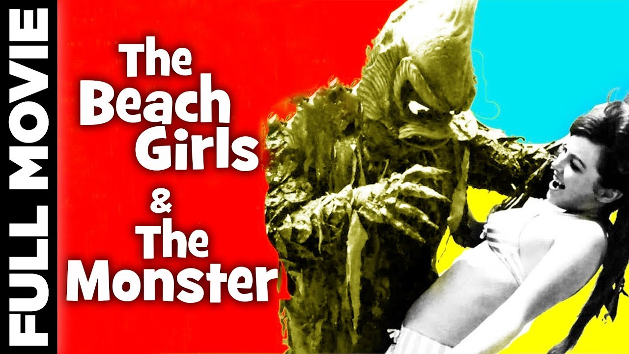 The Beach Girls And The Monster (1965) | Horror Thrill Movie | Jon Hall, Sue Casey