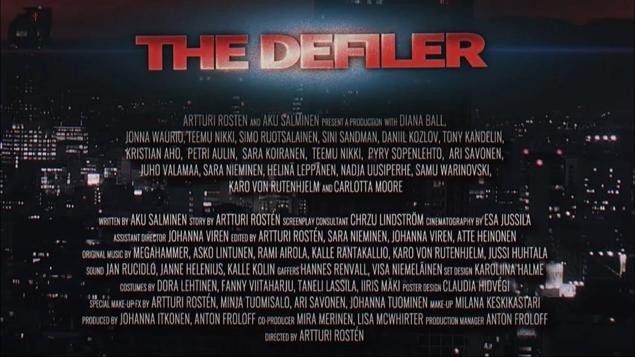The Defiler: Fists Of Annihilation | Cyberpunk / Splatterpunk / Neonsploitation (2017)