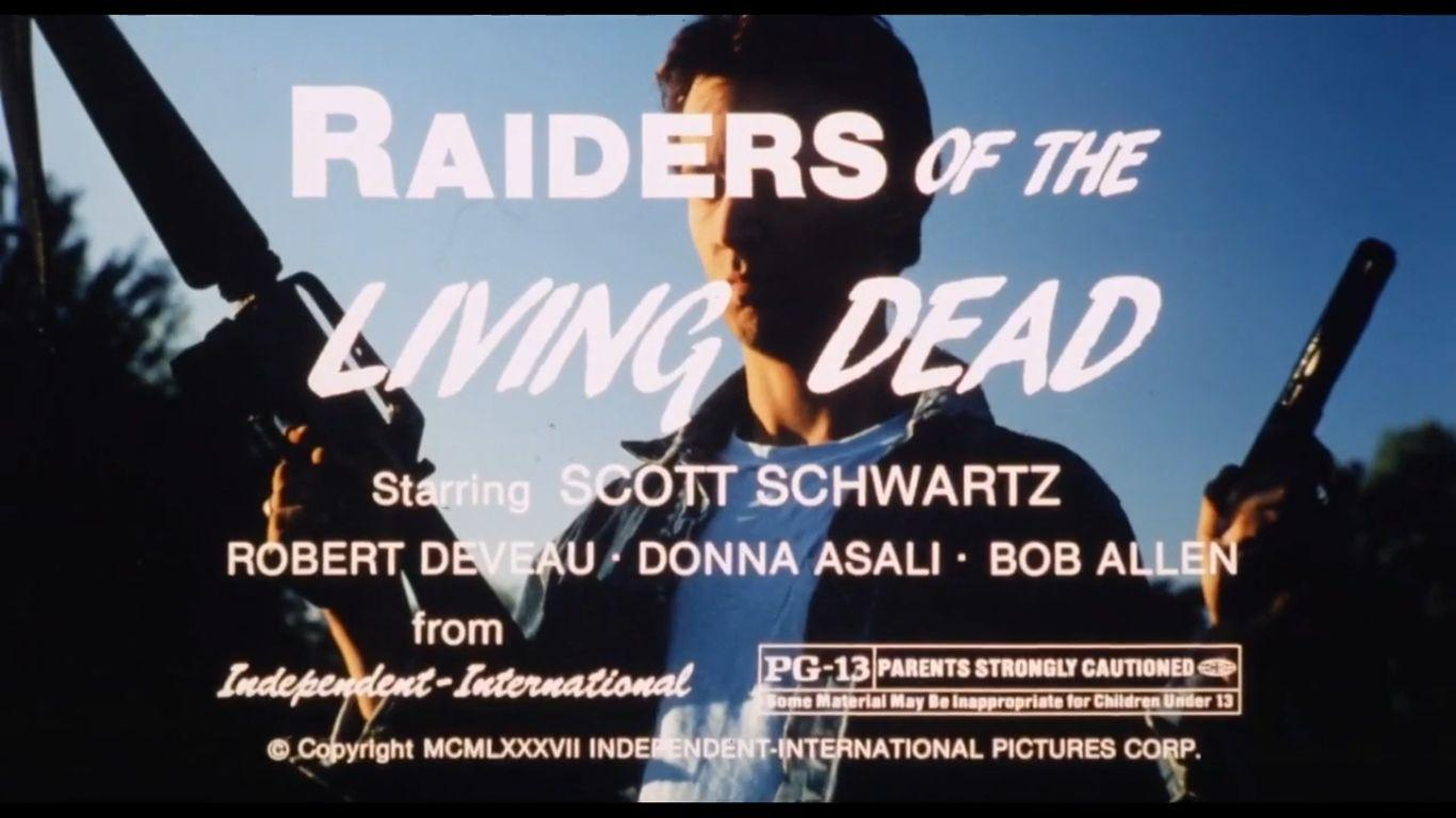 Raiders Of The Living Dead (1986) Killing Your Hamster With Grandpa's Laserdisc Player-Worst Zombie