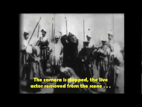 FIRST GORE Movie Snuff - The Execution of Mary, Queen of Scots Edison 1895