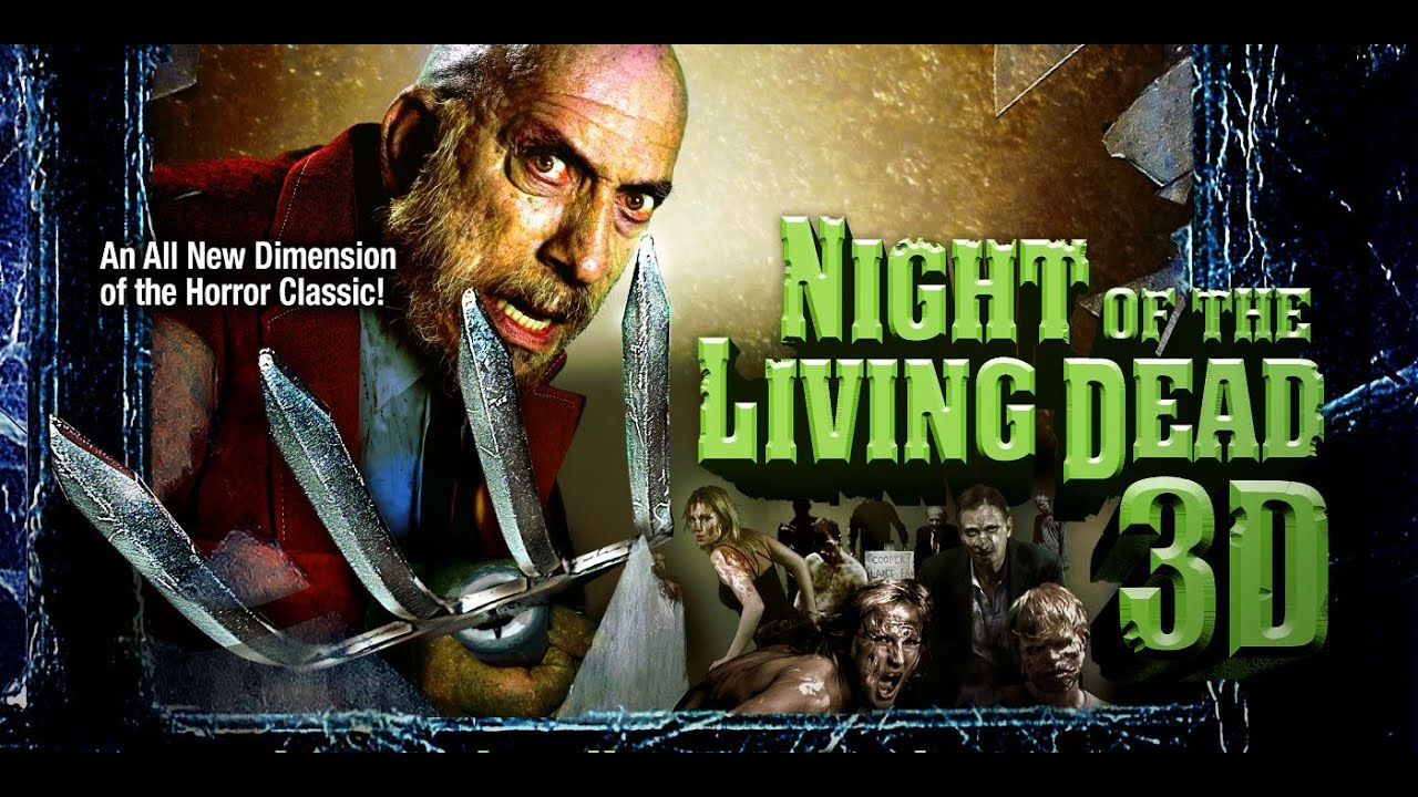 Live-Stream Theatre: Night Of The Living Dead 3D