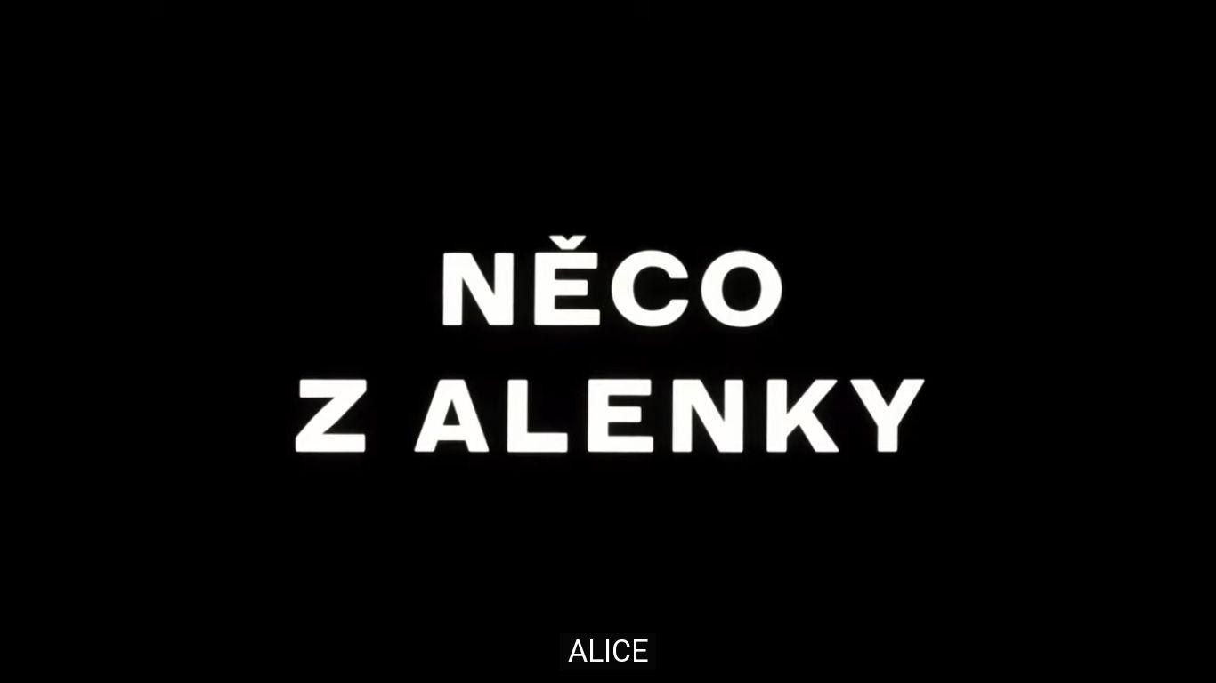 Alice (Něco z Alenky)(1988) by Jan Švankmajer HD Full Movie with English Subtitle