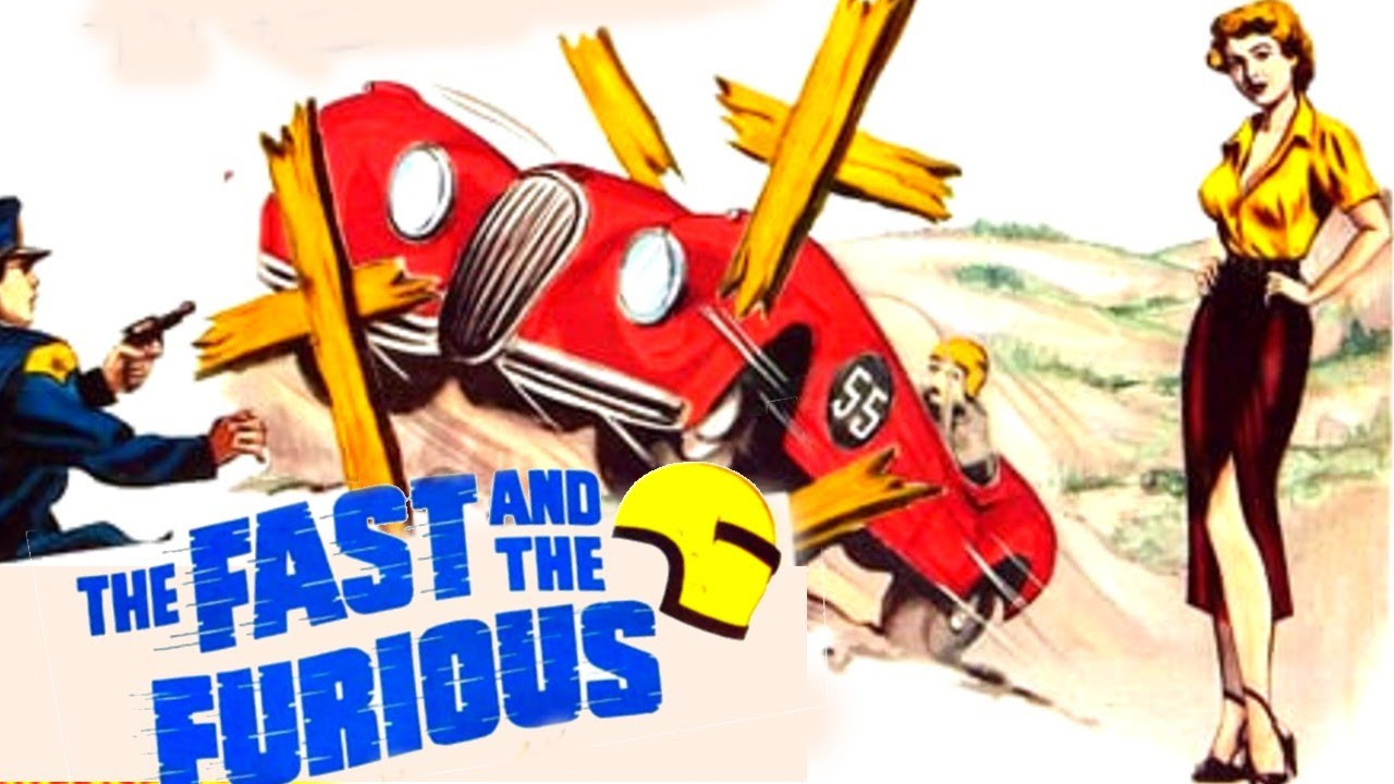 The Fast and the Furious (1954) Roger Corman | Crime, Drama, Mystery UT