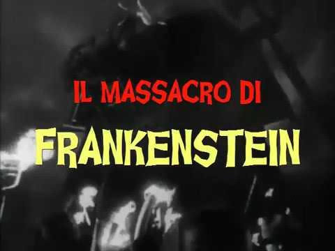 IL MASSACRO DI FRANKENSTEIN (2020) TRAILER