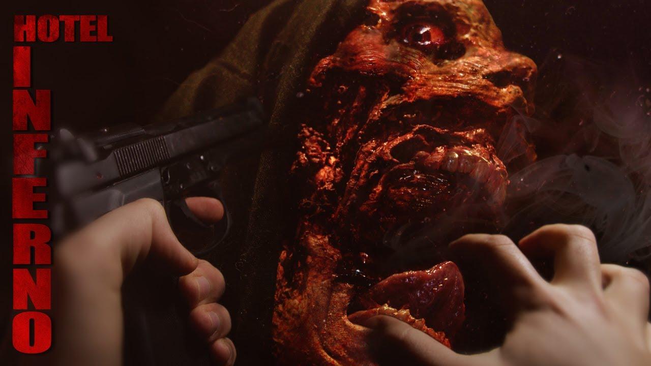HOTEL INFERNO - trailer - NECROSTORM ( Horror, Action)