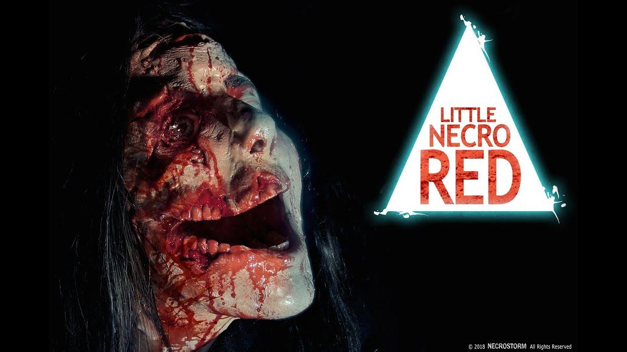 LITTLE NECRO RED - trailer - NECROSTORM (Action, Horror)
