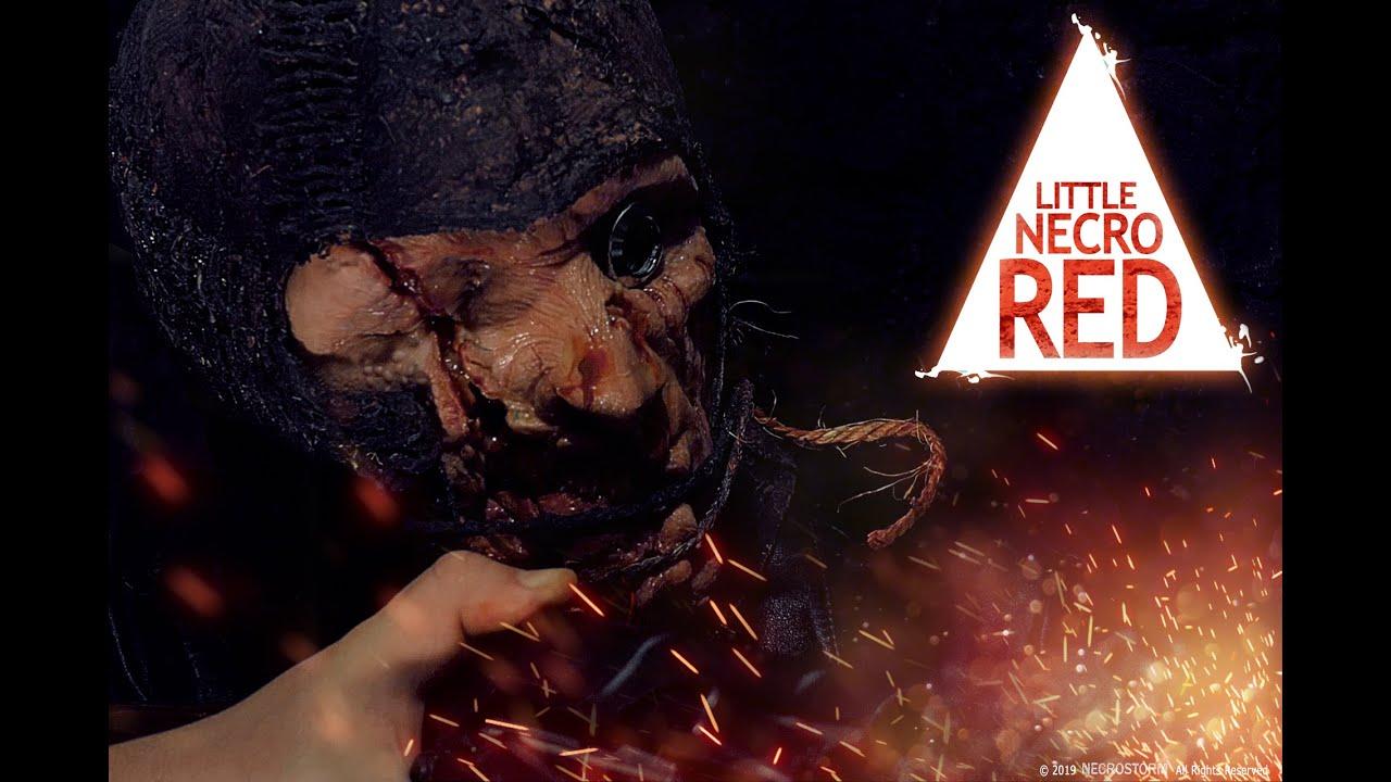 LITTLE NECRO RED  - clip2 - NECROSTORM (Action, Horror)