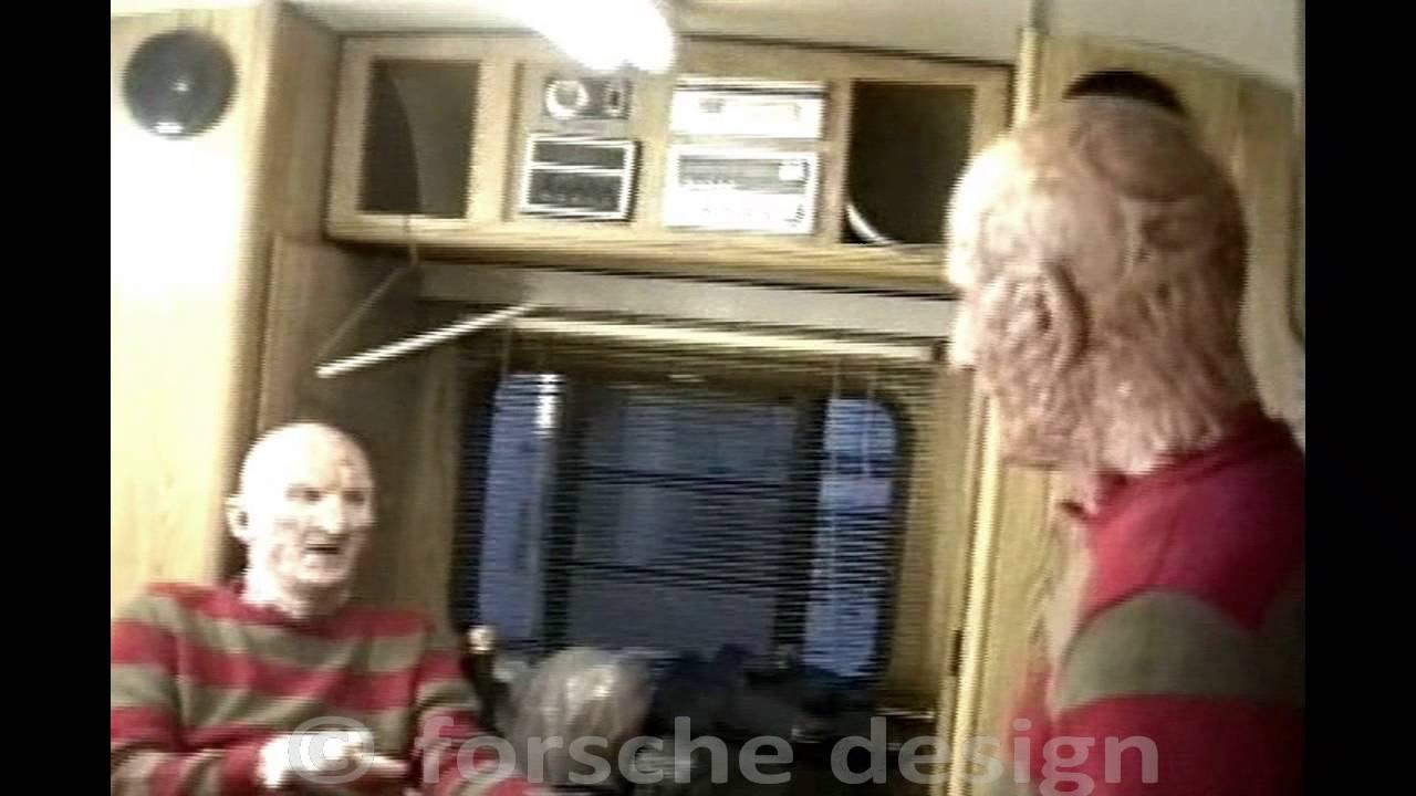 Make Up Trailer and Freddy Kreuger's Stuntman for Nightmare on Elm Street Pt. 4