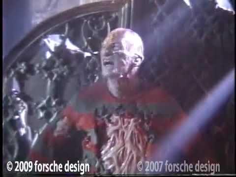 Nightmare on Elm Street 4 Freddy Krueger Make-Up Behind The Scenes Video