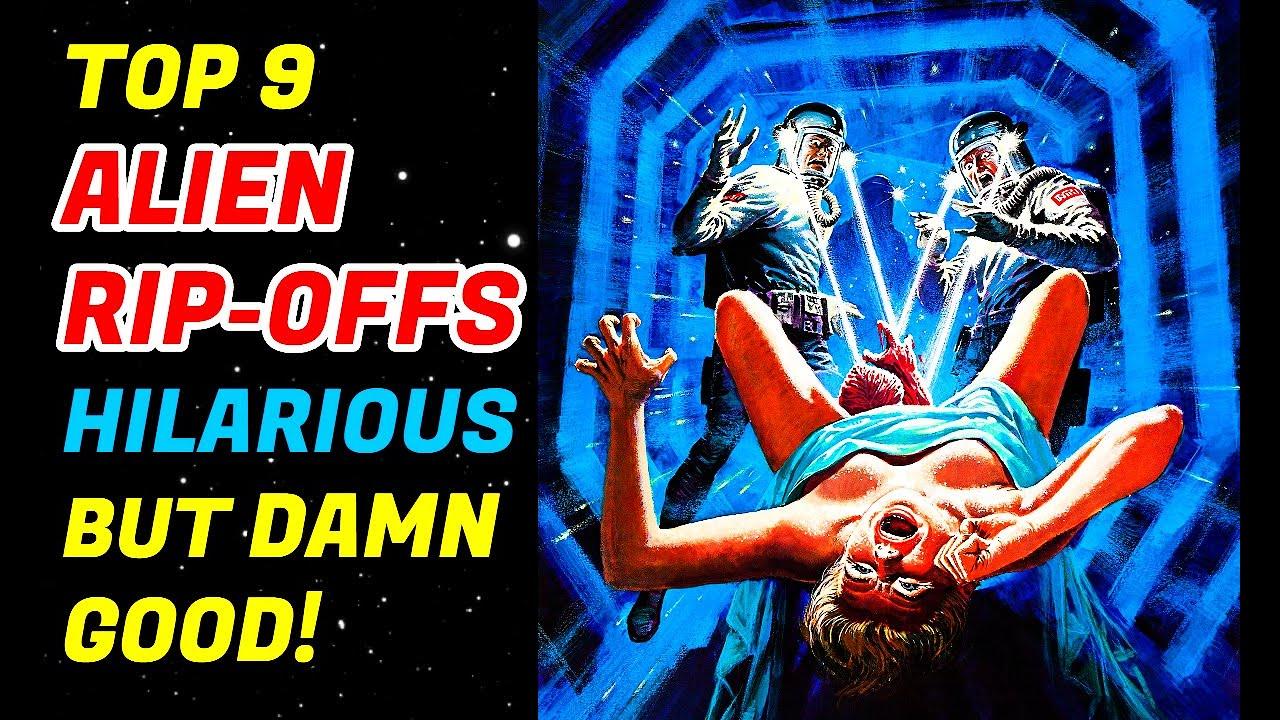Top 9 B-Movie Alien Rip-Offs That Are Too Damn Fun!