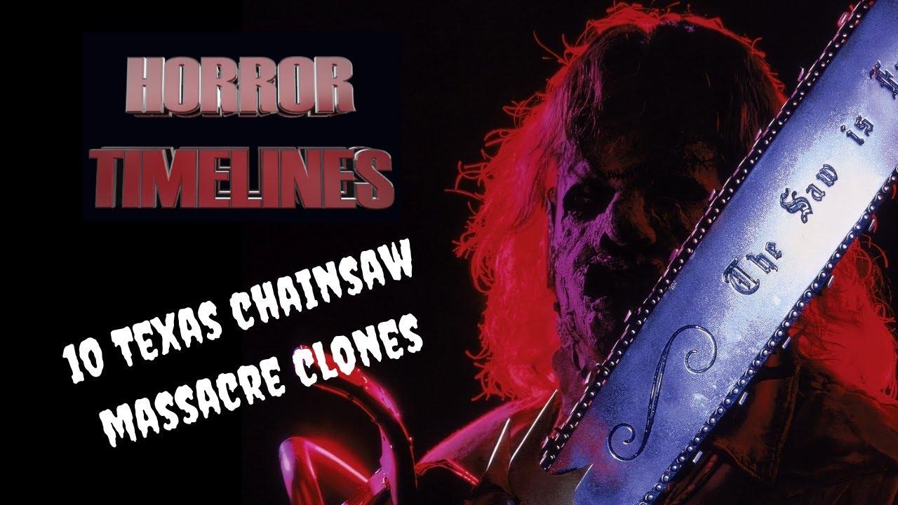 10 Texas Chainsaw Massacre Clones : Horror Timelines Lists Episode 5 :
