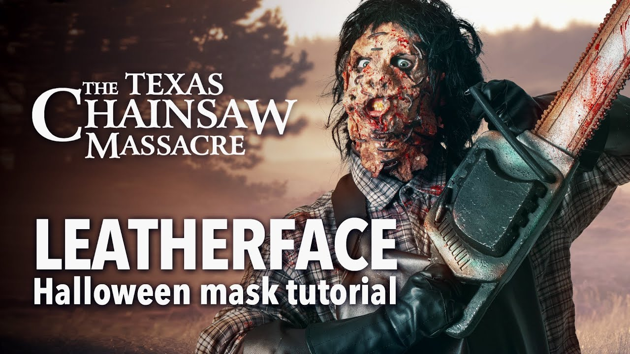 Texas Chainsaw Massacre - Leatherface Halloween Mask Tutorial