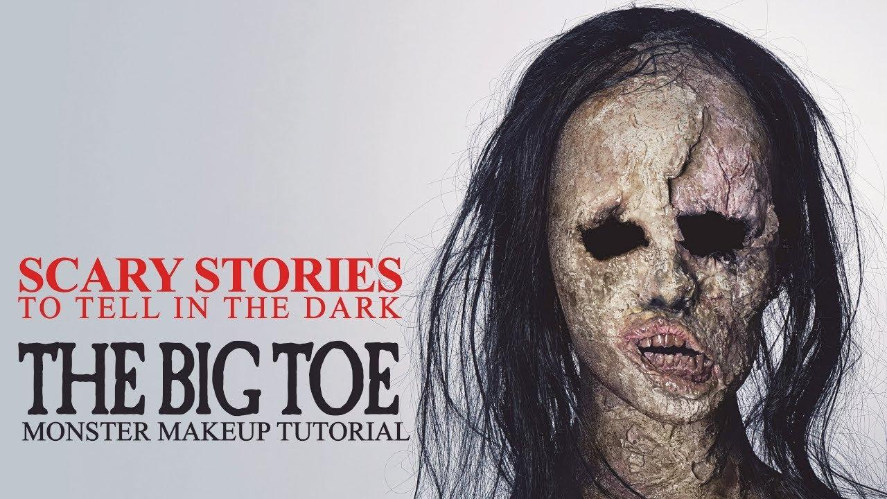 The Big Toe Monster Makeup tutorial