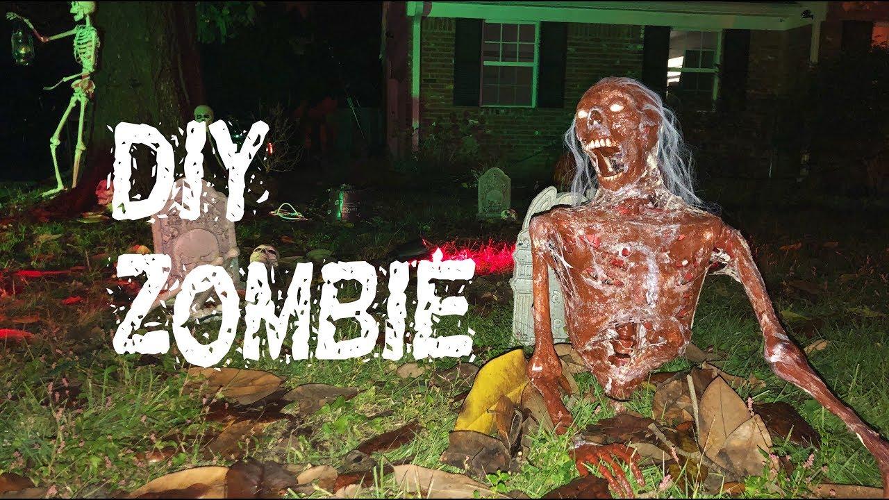 DIY Groundbreaking Zombie Prop - Corpsing a skeleton and more!
