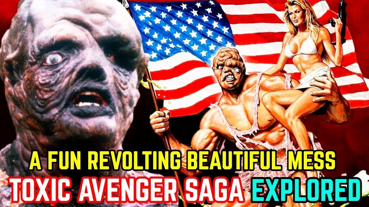 Toxic Avenger Saga Explored - Legendary Anti-Comedy Superhero Of All Time