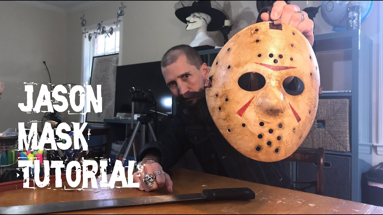 Easy Jason Mask Tutorial - Friday 13th Voorhees Horror Mask