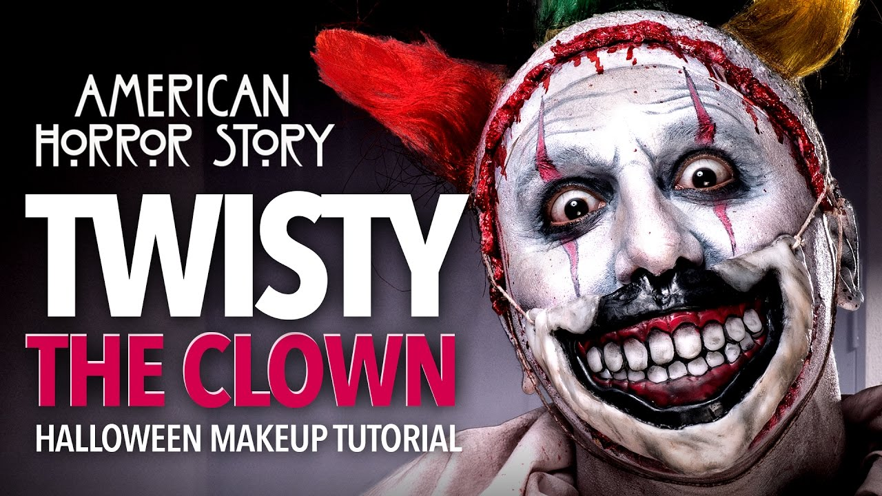 Twisty The Clown Halloween Makeup Tutorial  (AHS)