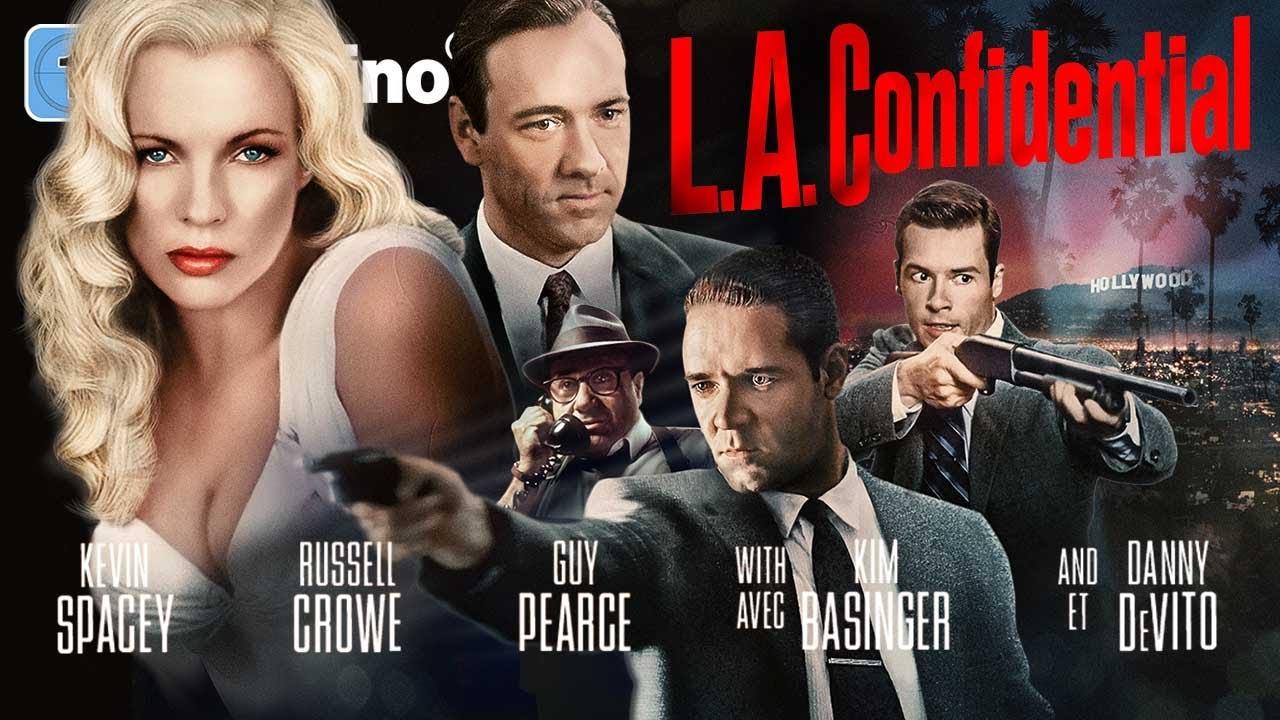 L.A. Confidential (4K CRIME l Spielfilm mit RUSSELL CROWE & KIM BASINGER, Kompletter Film Deutsch)