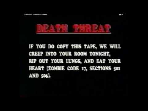 The Zombie Army (1991) Anti-Piracy Almost As Aggressive As Disney-One Of The Worst Zombie Films Ever