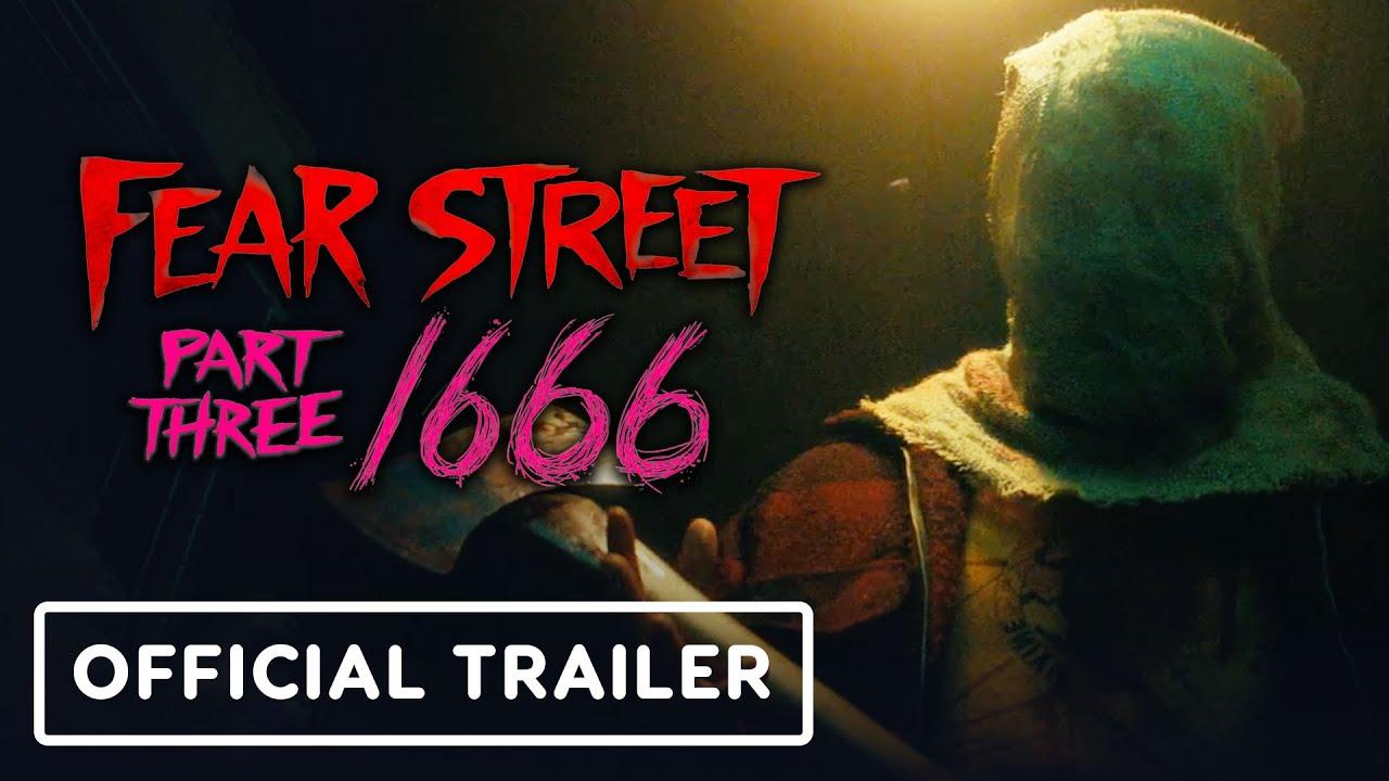 Fear Street Part 3: 1666 - Official Trailer (2021) Kiana Madeira, Gillian Jacobs, Sadie Sink