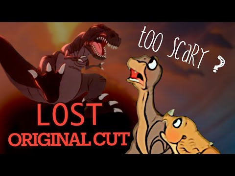 The Land Before Time Deleted Scenes #LostMedia