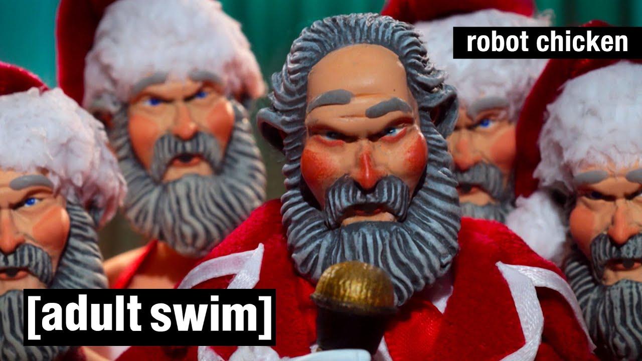 Robot Chicken | Alle Robot Chicken Weihnachtsspecials (Ganze Folgen) | Adult Swim