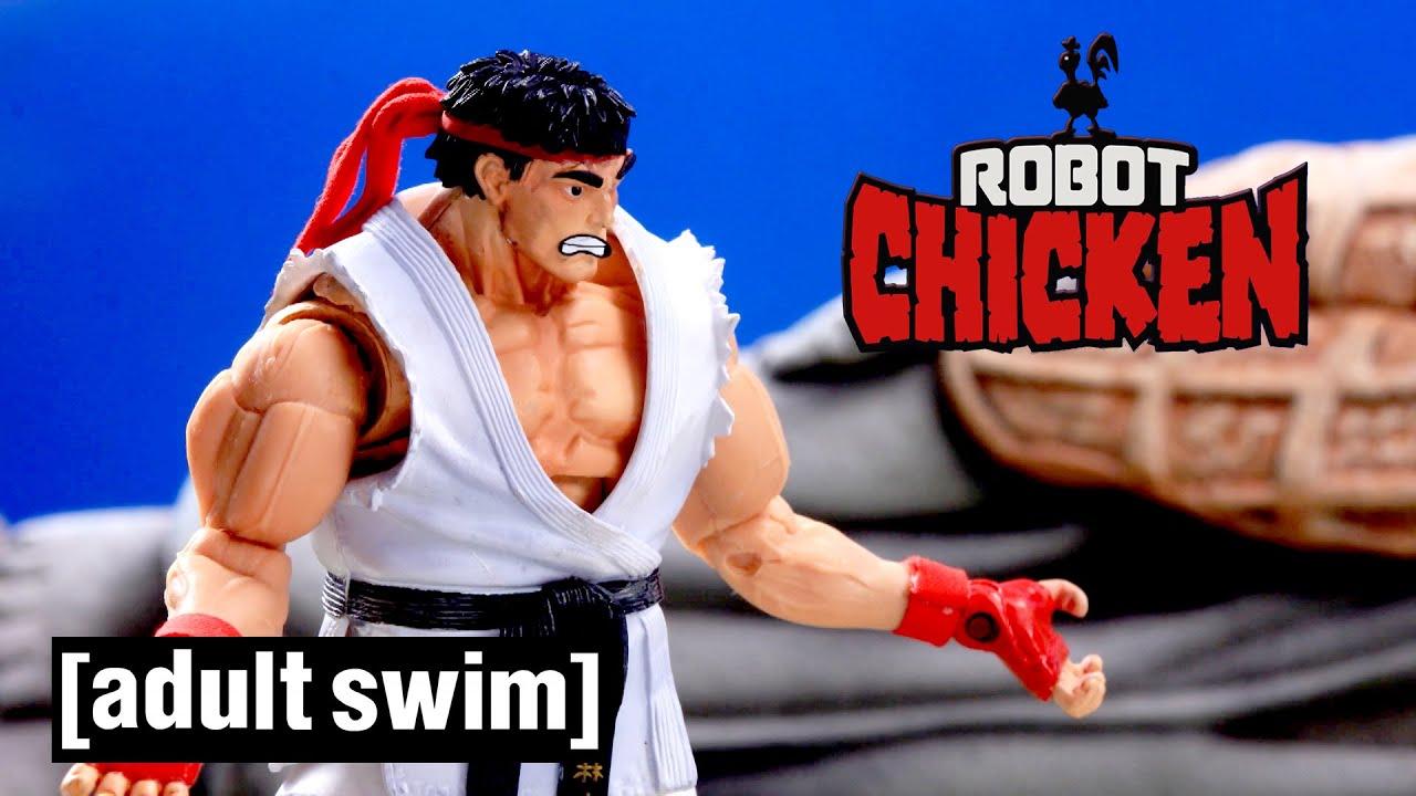 Robot Chicken | Street Fighter | Adult Swim