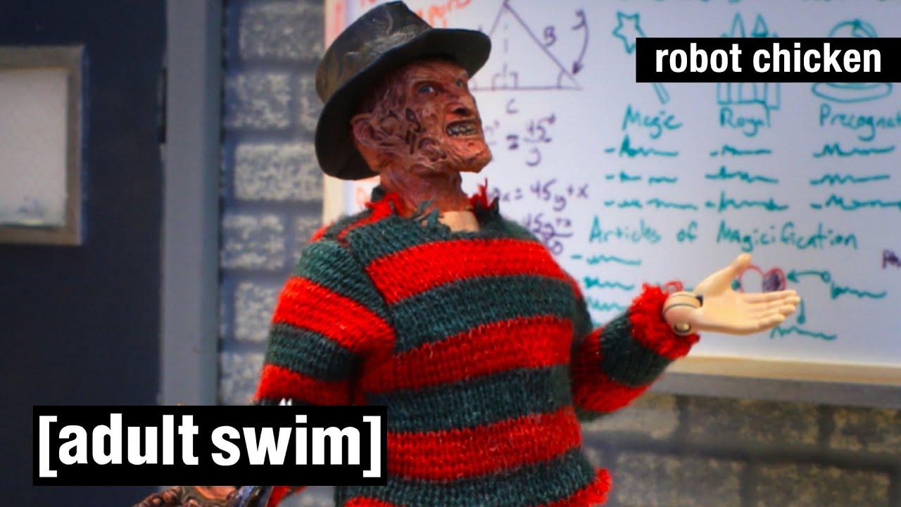 Robot Chicken | Das Beste von Freddy Krueger | Adult Swim