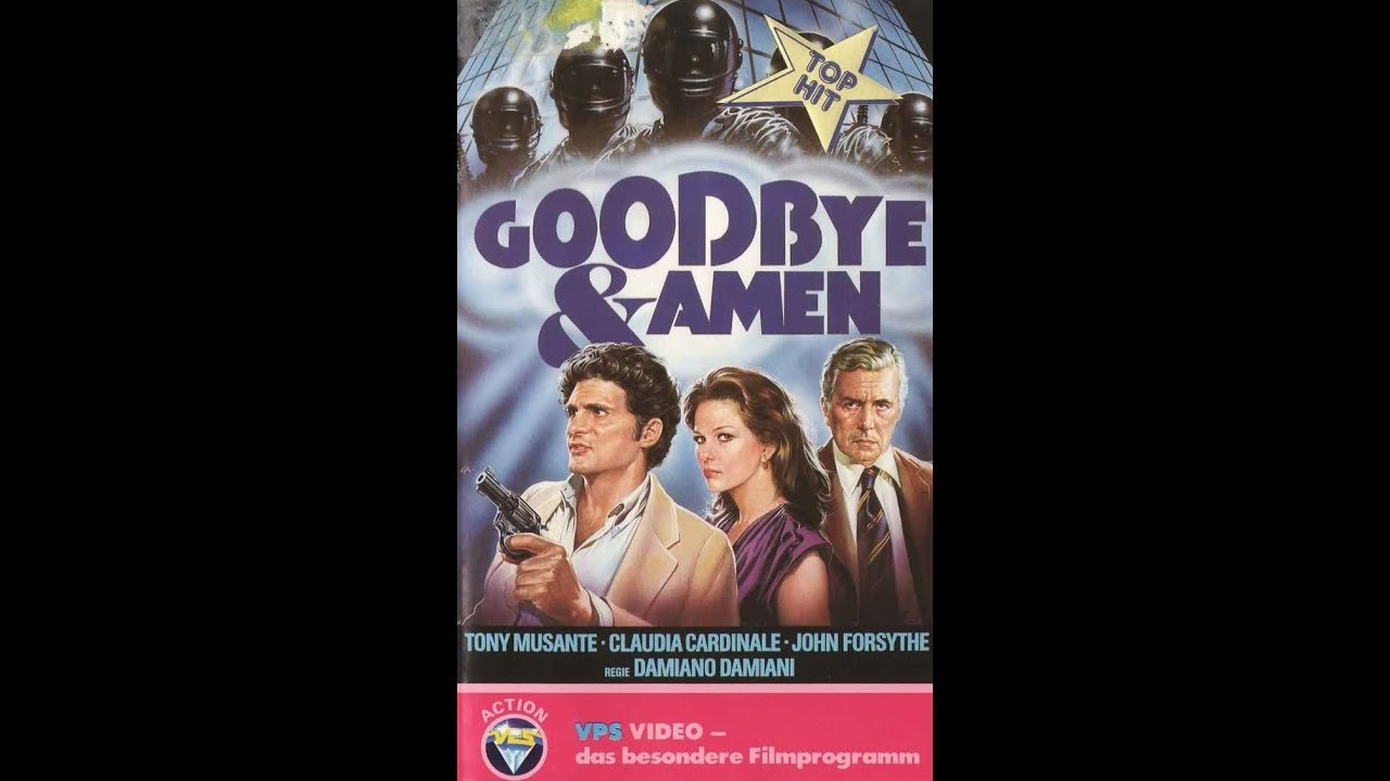 Goodbye und Amen ( Thriller ganzer Film VHSRip 1977 )