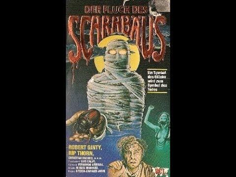 Der Fluch des Scarabäus  ( Abenteuer / Horror ganzer Film VHSRip 1982 )