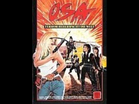 OSA - Terror beherrscht die Welt ( SciFi / Action ganzer Film VHS Rip 1986 )