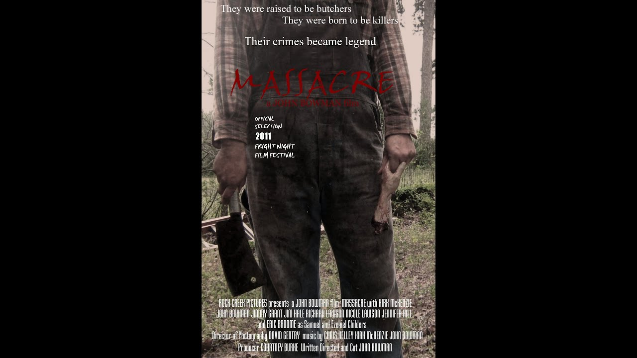 MASSACRE - Low Budget Hillbilly Backwood Slasher