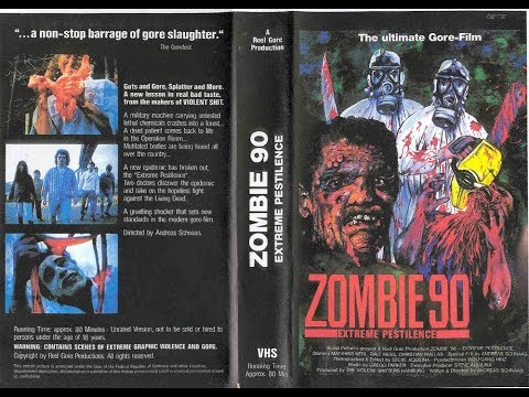 ZOMBIE '90 (Andreas Schnaas 1991) : The Making Of