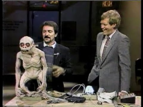 Film s/fx Expert Tom Savini Collection on Letterman, 1984-87